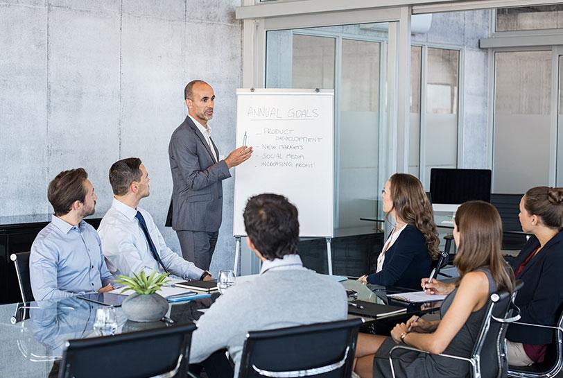 Cómo liderar reuniones eficaces - Objetivos