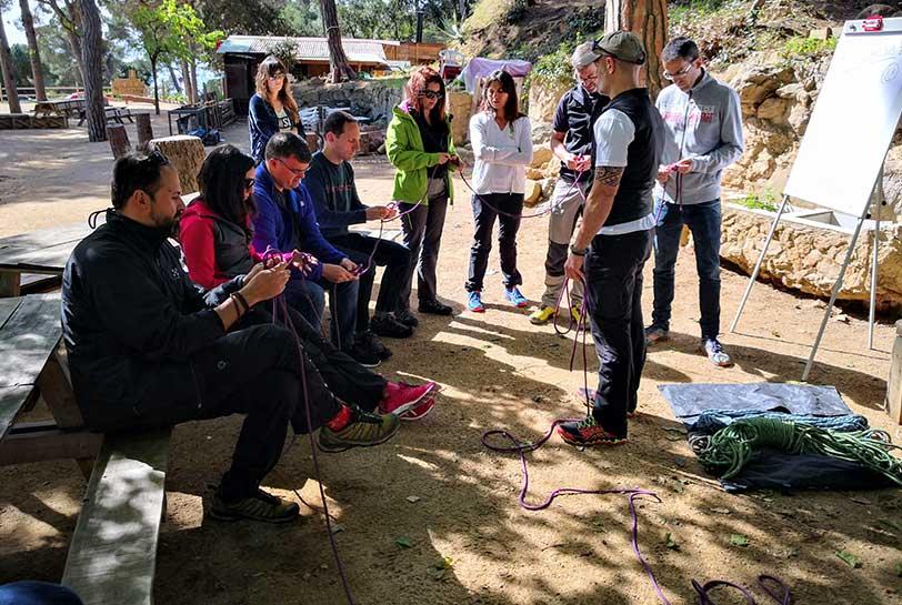 Team building en Barcelona - Aventura en la montaña
