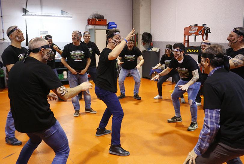 Team building en Barcelona - Tribal experience (Grupo)