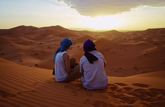 Desert retreat: liderar la transformación (Atardecer)