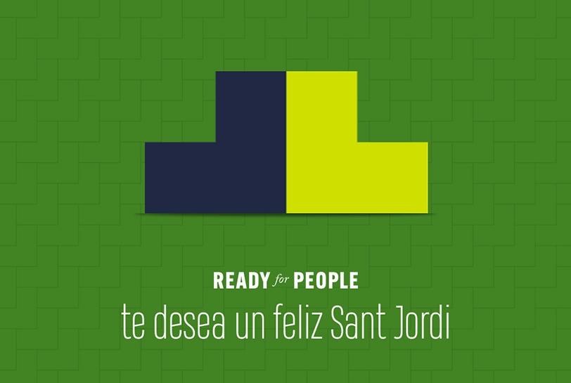 Ready to Read: celebra Sant Jordi con la comunidad de Ready for People (Portada)