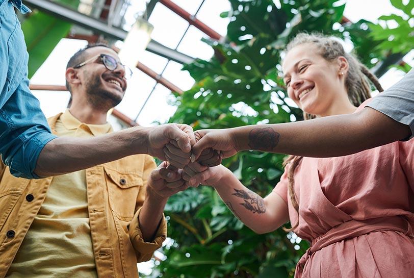 ¿Languidez? ¡Nuevos retos, socialización y reconexión de los equipos! (Manos)